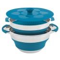 Набор посуды Collaps Pot & Colander 4,5 л синий